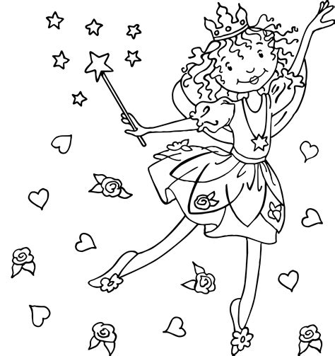Malvorlagen Prinzessin Lillifee Kostenlos