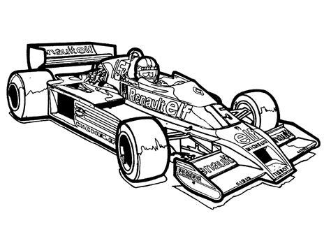 Malvorlagen Rennauto Formel 1