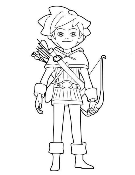 Malvorlagen Robin Hood Kika