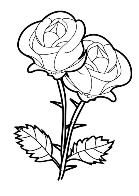 Malvorlagen Rosen Mädchen