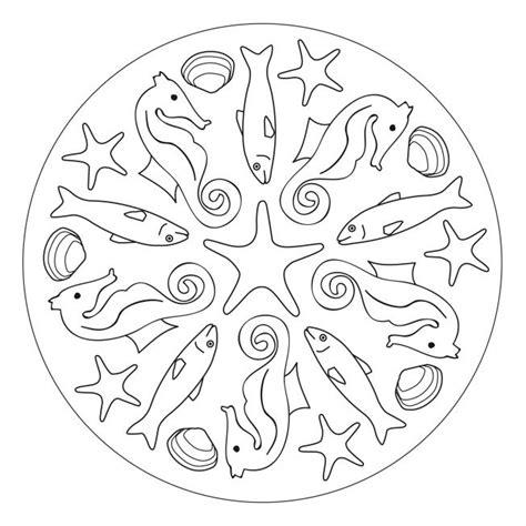 Malvorlagen Sommer Mandala
