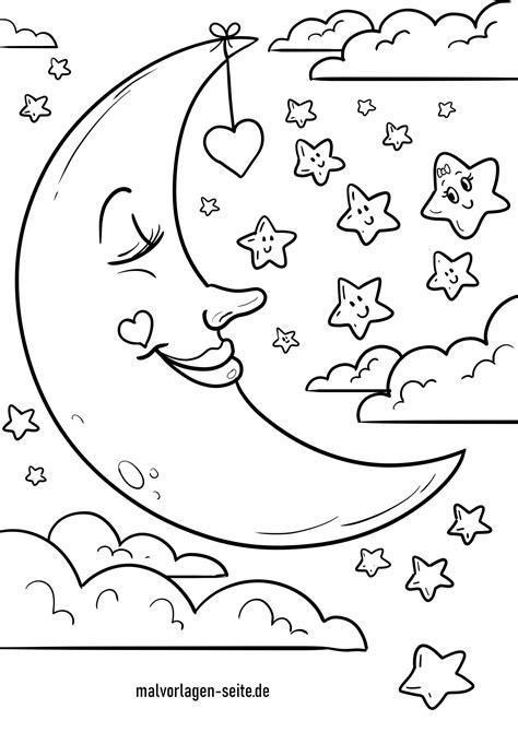 Malvorlagen Sonne Mond Und Sterne