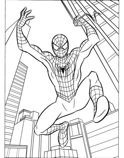 Malvorlagen Spiderman Pdf