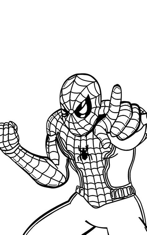 Malvorlagen Spiderman Zum Ausdrucken