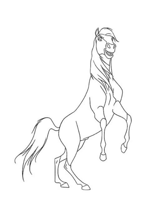 Malvorlagen Spirit Der Wilde Mustang