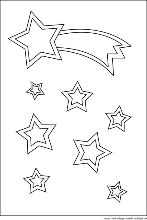 Malvorlagen Sterne Weihnachten
