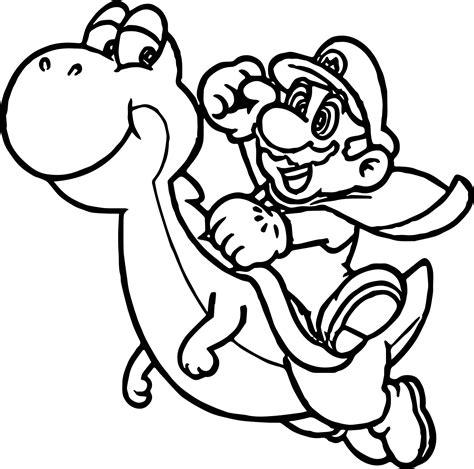 Malvorlagen Super Mario Flash