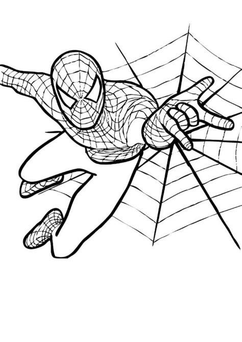 Malvorlagen Superhelden Spiderman