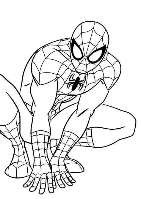 Malvorlagen Superhelden Spiderman Kostenlos