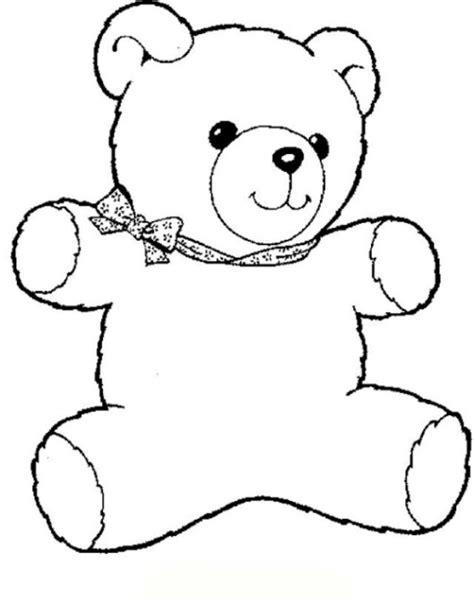 Malvorlagen Teddybären Gratis