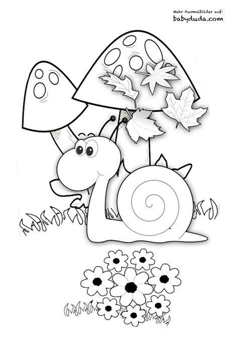 Malvorlagen Tiere Im Herbst