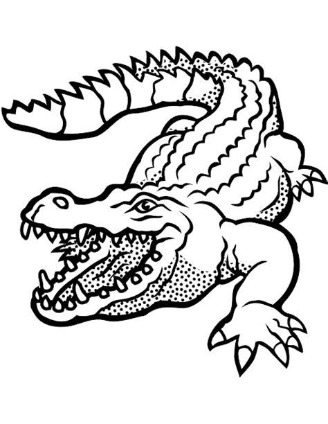 Malvorlagen Tiere Krokodil
