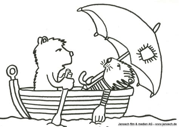 Malvorlagen Tiger Und Bär