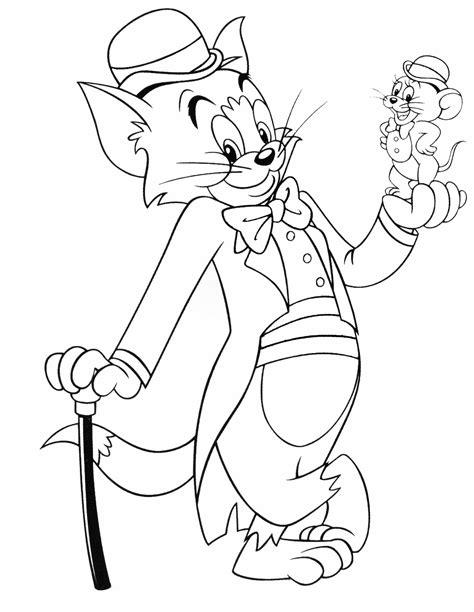 Malvorlagen Tom Und Jerry Halloween