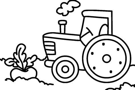 Malvorlagen Traktor Kostenlos Ausdrucken