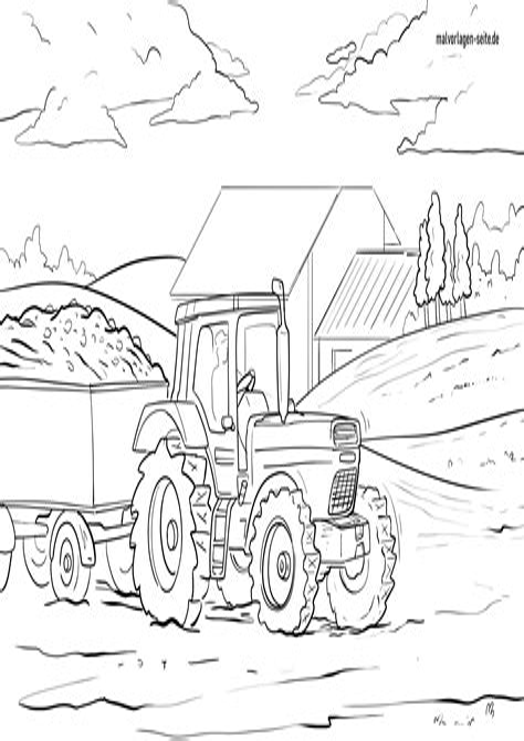 Malvorlagen Traktor Pdf
