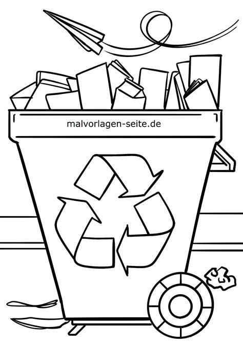 Malvorlagen Umweltschutz Einfach