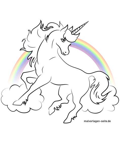 Malvorlagen Unicorn Gratis