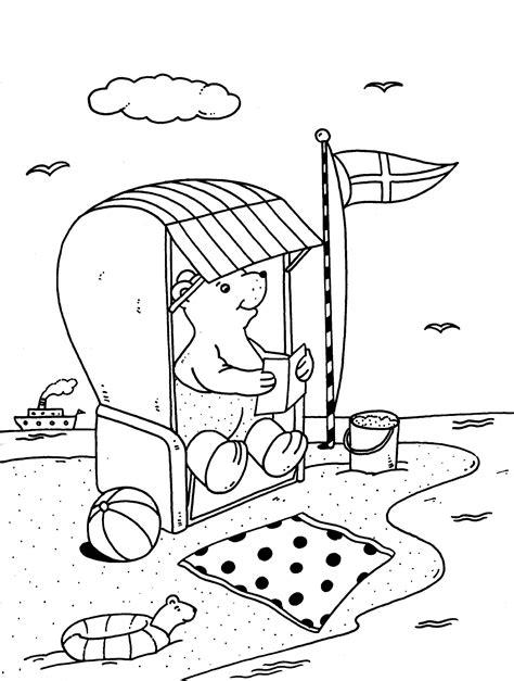 Malvorlagen Urlaub Strand Xing