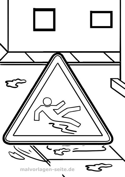Malvorlagen Verkehrsschilder Comic