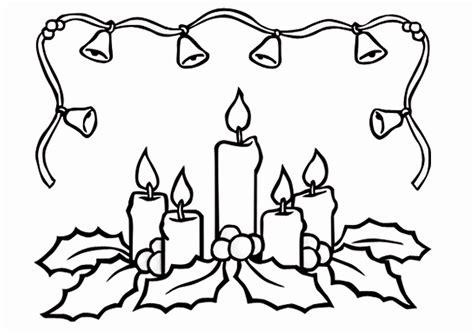 Malvorlagen Weihnachten Adventskranz