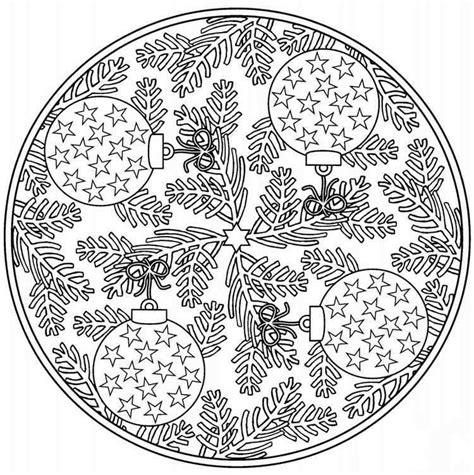 Malvorlagen Weihnachten Mandala