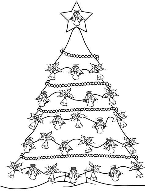 Malvorlagen Weihnachtsbäume Kostenlos