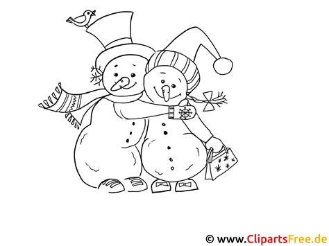 Malvorlagen Winter Weihnachten Deutsch