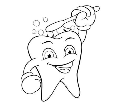 Malvorlagen Zähne Kostenlos