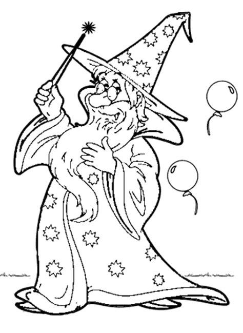 Malvorlagen Zauberer Zum Ausdrucken