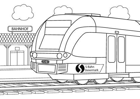 Malvorlagen Zug Pdf