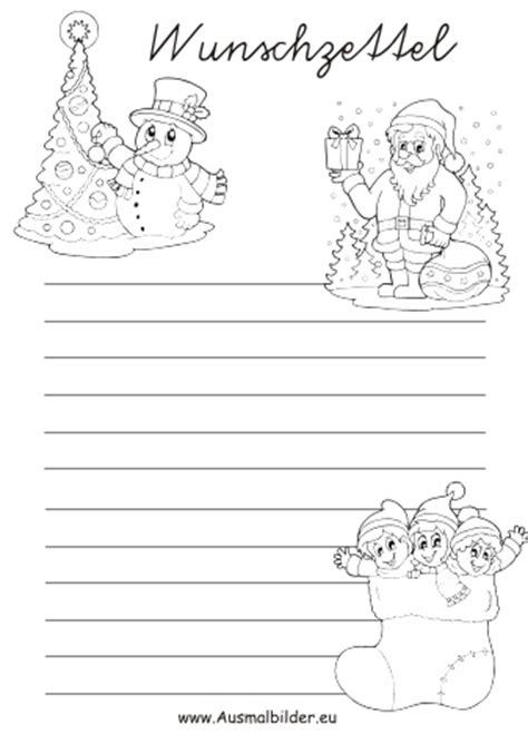 Malvorlagen Zum Ausdrucken Weihnachten Schreiben