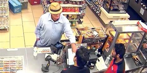 Gun-Store Man Robs Gun Store.