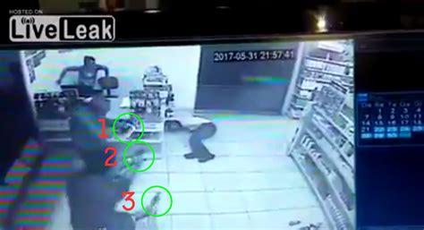 Gun-Store Man Robs Gun Store And Gets Shot 7 Times.