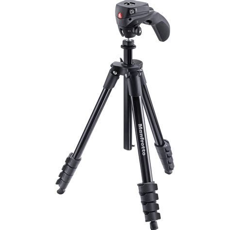 Manfrotto Compact Action Tripod Pistol Grip Hunting