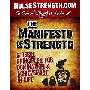 Manifesto of strength hulse strength publishing promotional codes