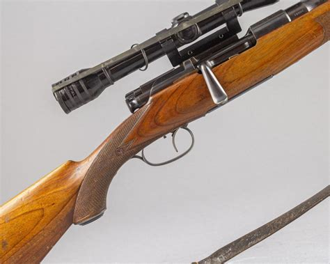 Manlicher Stocked Bolt Action Rifle