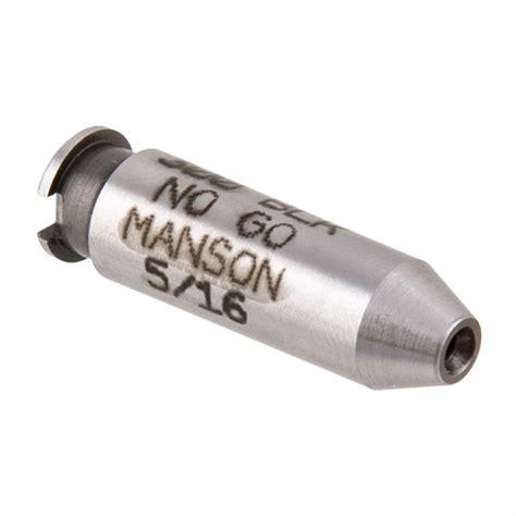 Manson Precision Rimless Rifleshotgun Cartridge Headspace Gauges No Go Gauge Fits 270 Win 3006 Springfield 35 Whelan