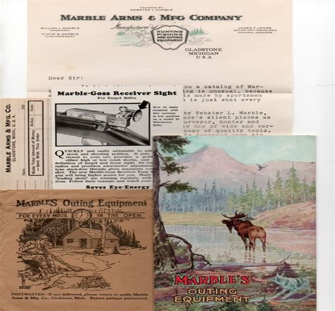 Marble Arms Msa Advertising Memorabilia For Sale