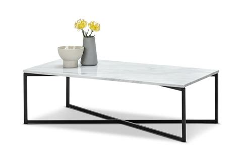 Marble Rectangle Coffee Table Image