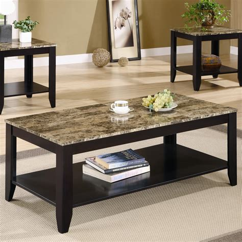 Marble Top End Table Set Image