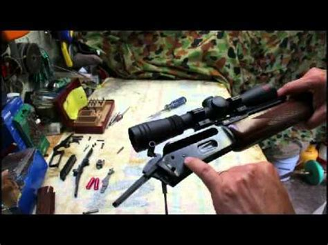 Marlin 1894 Step By Step Full Maintenance Cleaning Disassembly Part 1