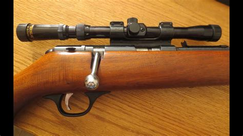 Marlin 22 Bolt Action Rifle Model 81