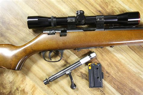 Marlin 22 Rifle With Scope