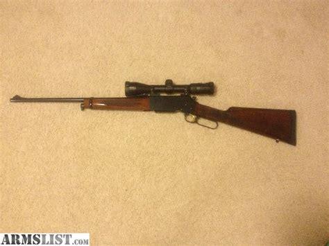 Marlin 358 Winchester Rifle