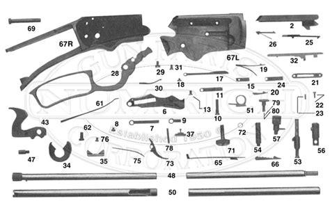 Marlin Model 99 Guide To Vintage Gun Parts