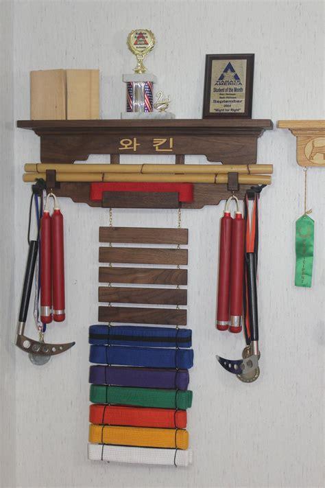 martial arts belt display rack woodworking plans.aspx Image