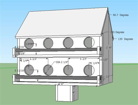 Martin house plans free Image