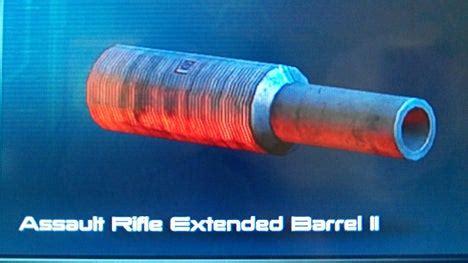 Mass Effect 3 Assault Rifle Extended Barrel V