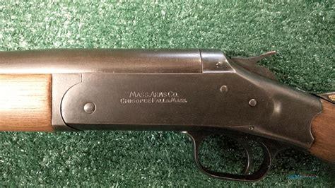 Massachusetts Arms Company 12 Gauge Shotgun
